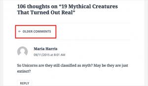 تقسيم التعليقات إلى أكثر من صفحة